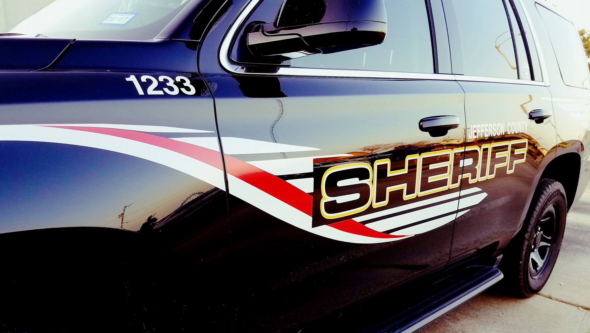 Close up shot of Jefferson County Sheriff's road patrol SUV style vehicle.